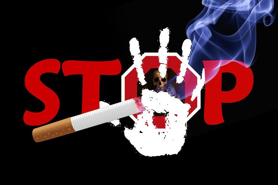 Ads stopping smoking